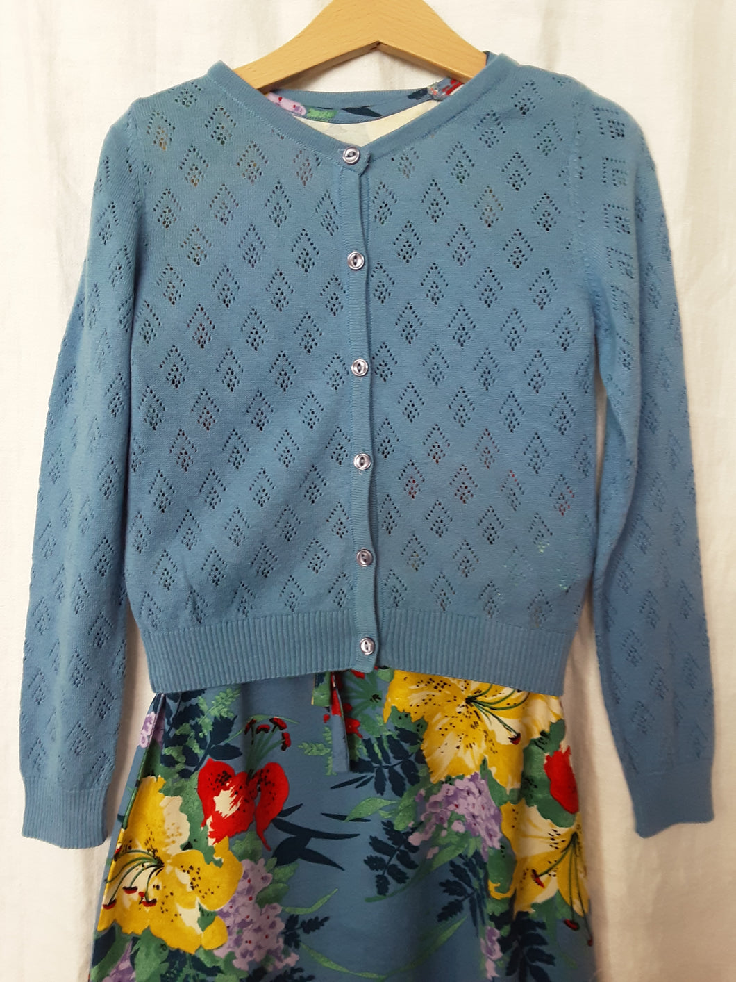 Kinder Strickjacke hellblau Petit Louie *New in*