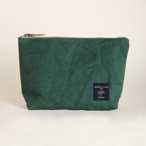 Pochette verte Immodest Cotton