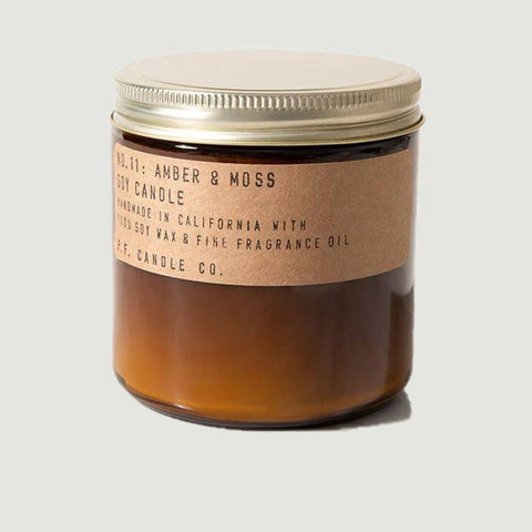 Bougie PF Soy candle Amber &Moss