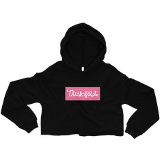 Pretty Pink Thick-fil-a Crop Hoodie