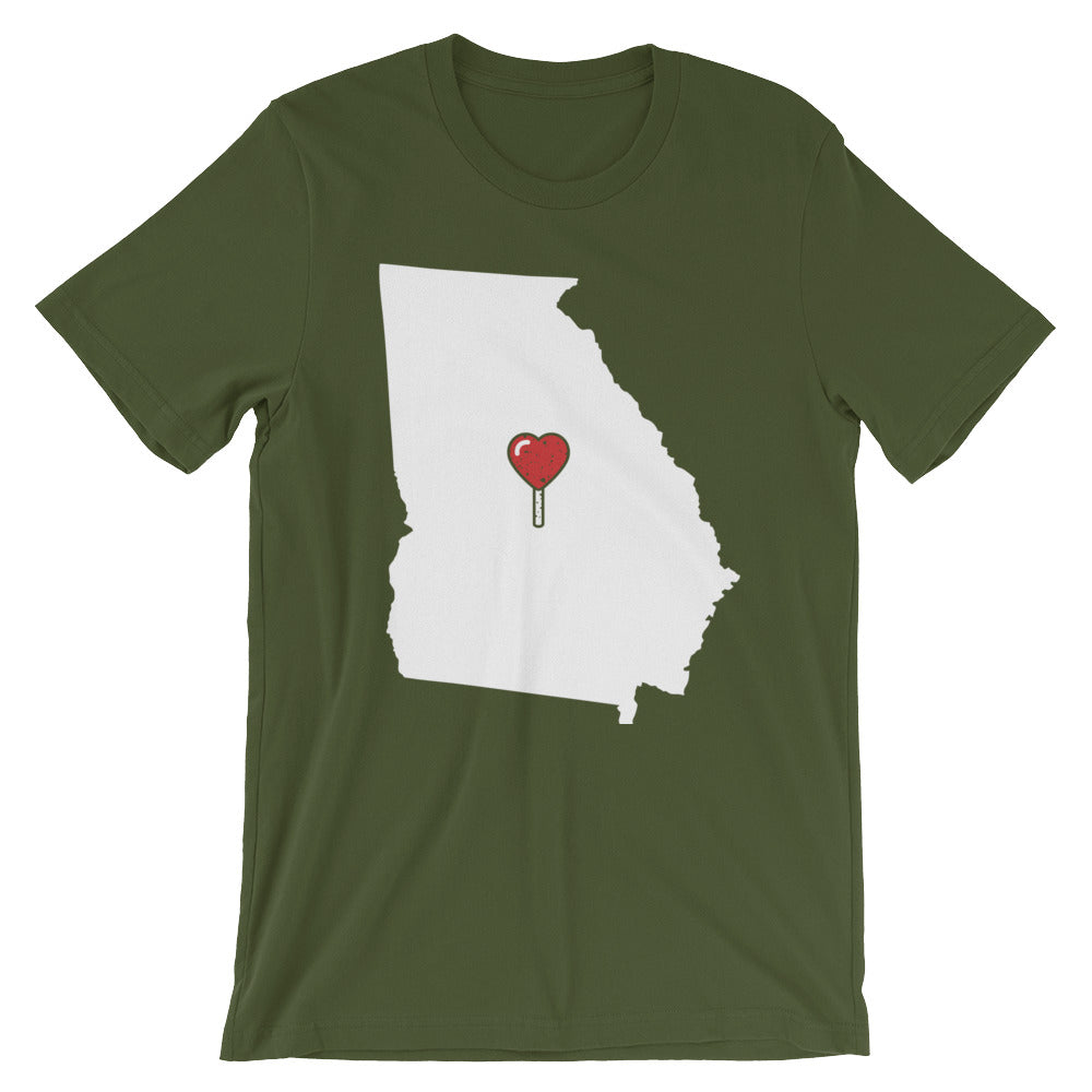 My Heart Is Always In Georgia (Alt) Unisex T-Shirt