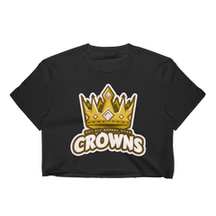 Queen no Crown Crop Top