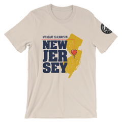 My Heart Is Always In New Jersey Unisex T-Shirt