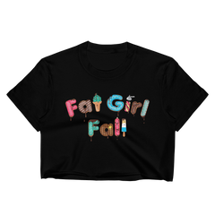 Fat Girl Fall Crop Top