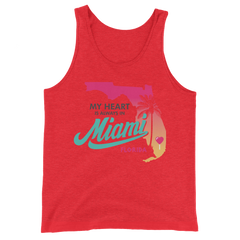 My Heart is Always in Miami Tank Top