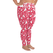 Fit-Fil-A Plus Size Leggings