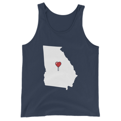 My Heart Is Always In Georgia Tank Top