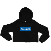 Royal Blue Thick-fil-a Crop Hoodie