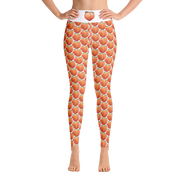 Peach Yoga Leggings W Pocket