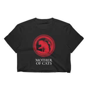 Mother of Cats Crop Top