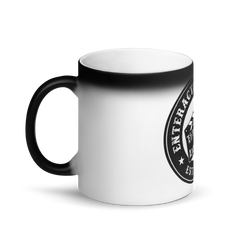 EnterAction Matte Black Magic Mug