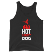 Hot Diggity Dog ⚪️ Tank Top