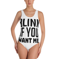 BLINK IF YOU WANT ME Swimsuit