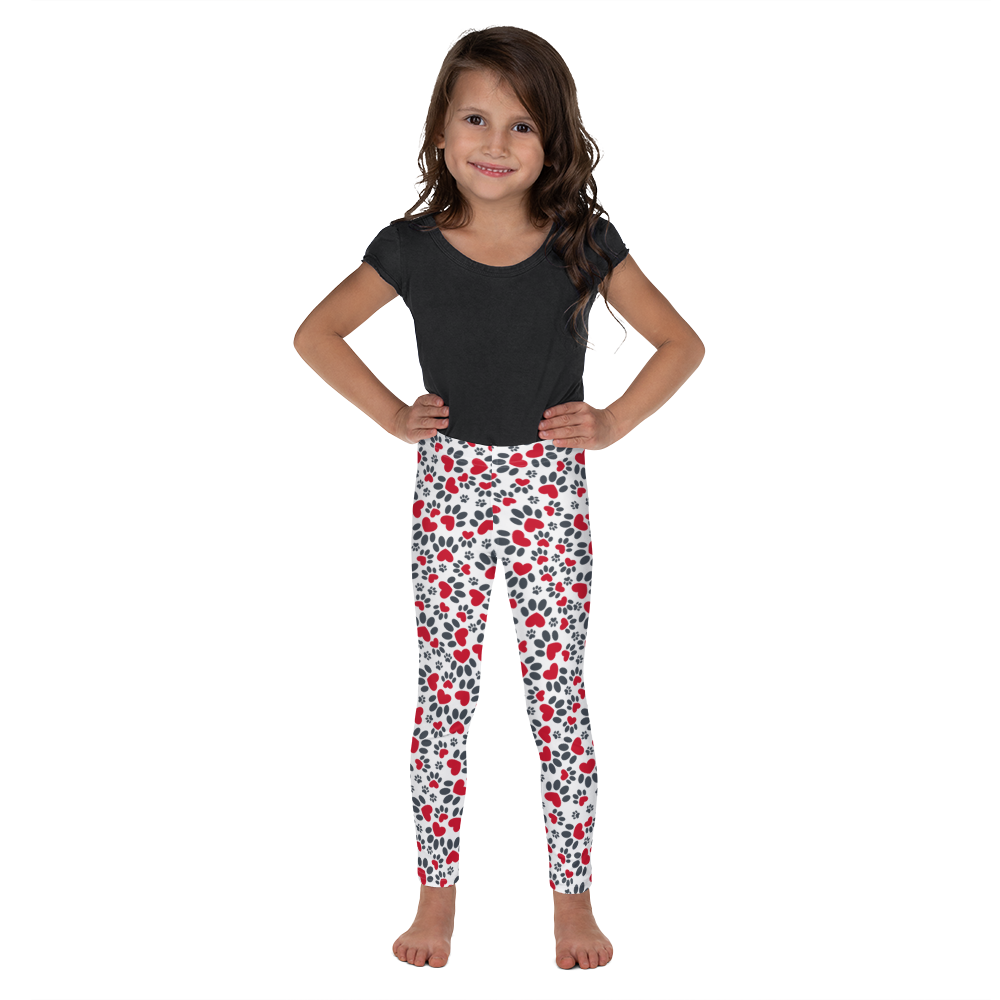 Pawesome print Kid's Leggings