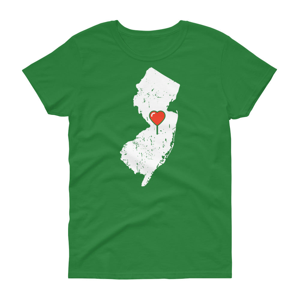 My Heart Is Always In New Jersey Women's (Alt) T-Shirt