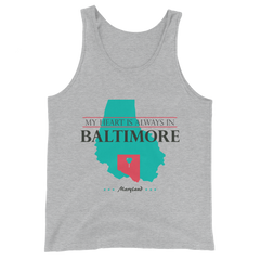My Heart Is Always In Baltimore Tank Top