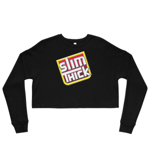 Slim Thick Crop Sweatshirt