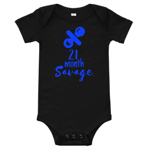21 Month Savage Onesie