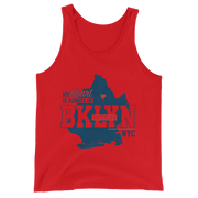 My Heart is always in Brooklyn Tank Top