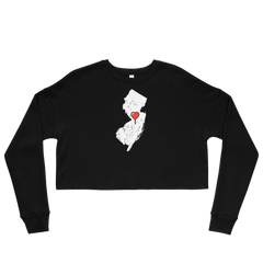 New Jersey Crop Sweatshirt