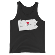 My Heart Is Always In Pennslyvania Tank Top