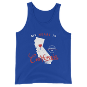 My Heart Is Always In California Tank Top