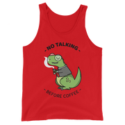 No Talking before Coffee Tank Top