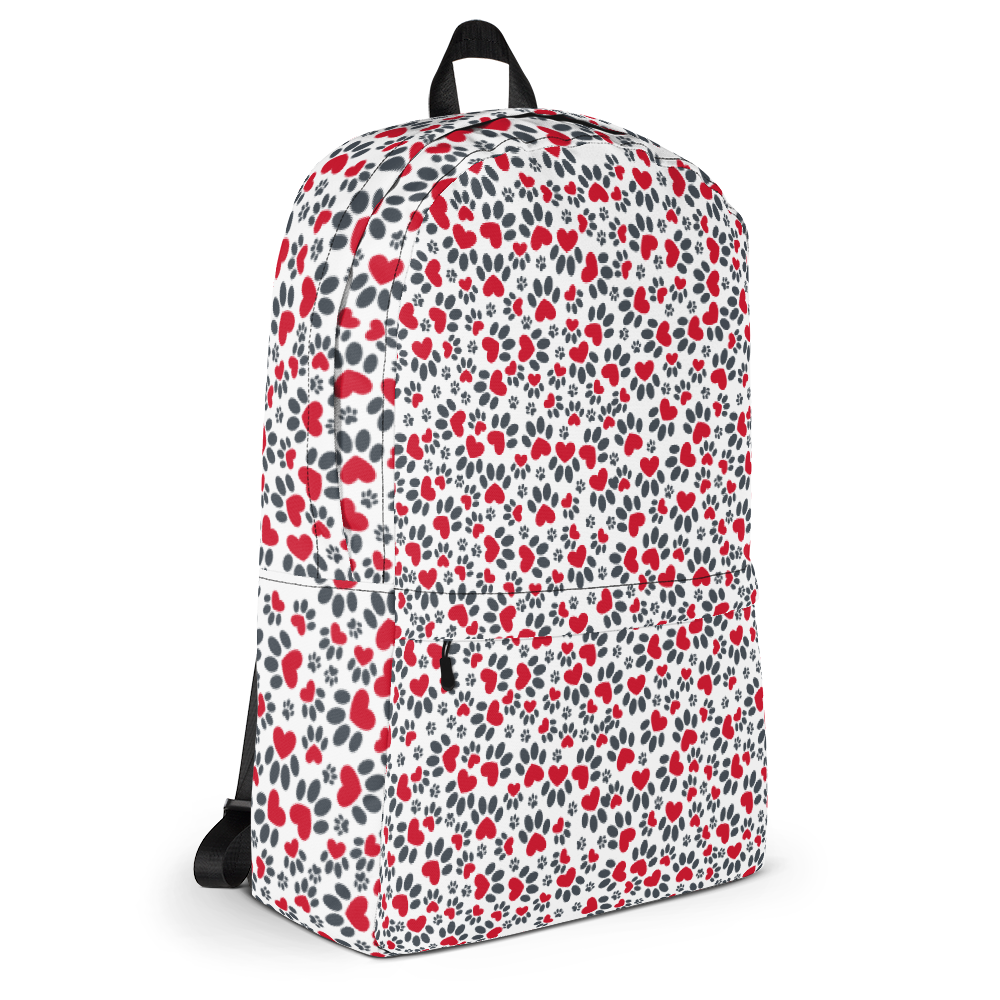 Pawesome print Backpack