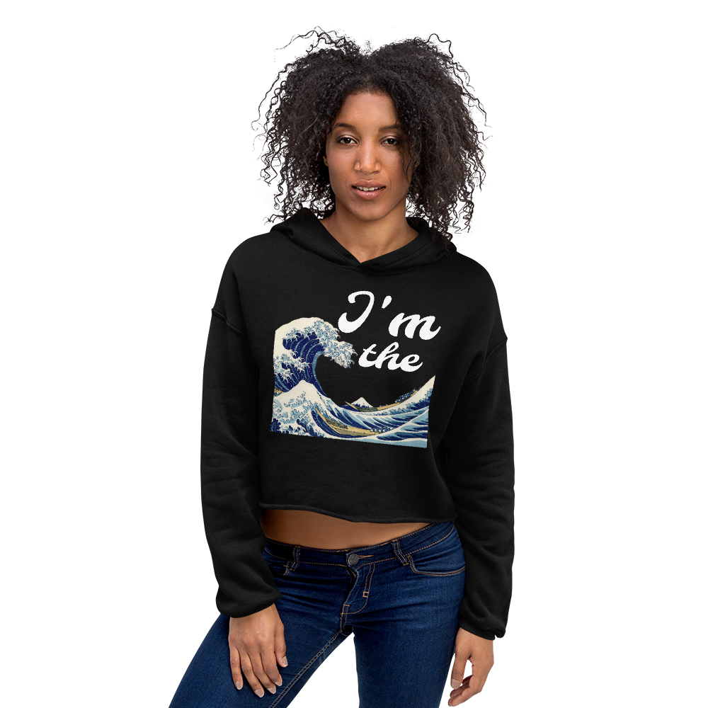 I'm the Wave Crop Hoodie