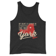 My Heart Is Always In New York Tank Top
