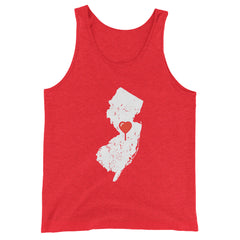 My Heart Is Always In New Jersey Tank Top