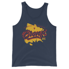 My Heart Is Always In the Bronx Tank Top
