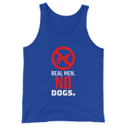 Real Men, No Dogs Tank Top