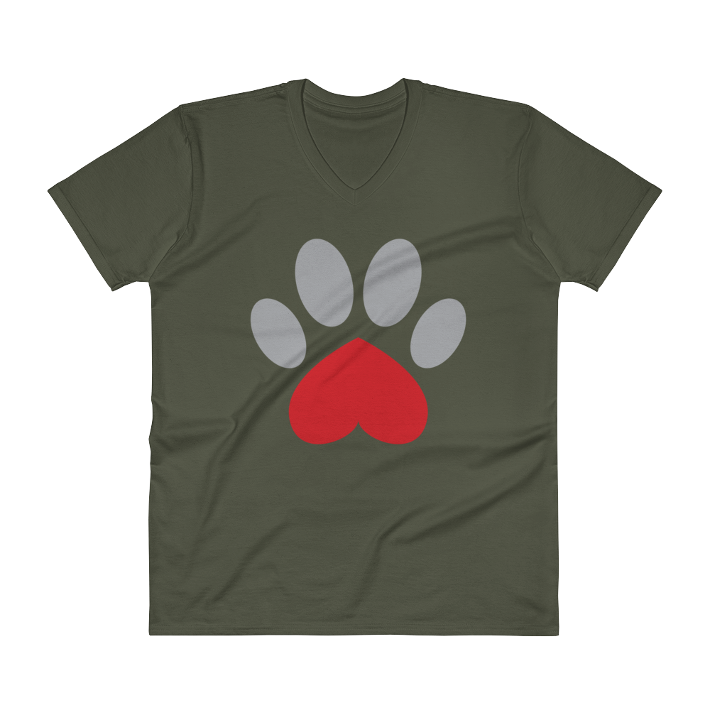Pawesome V-Neck