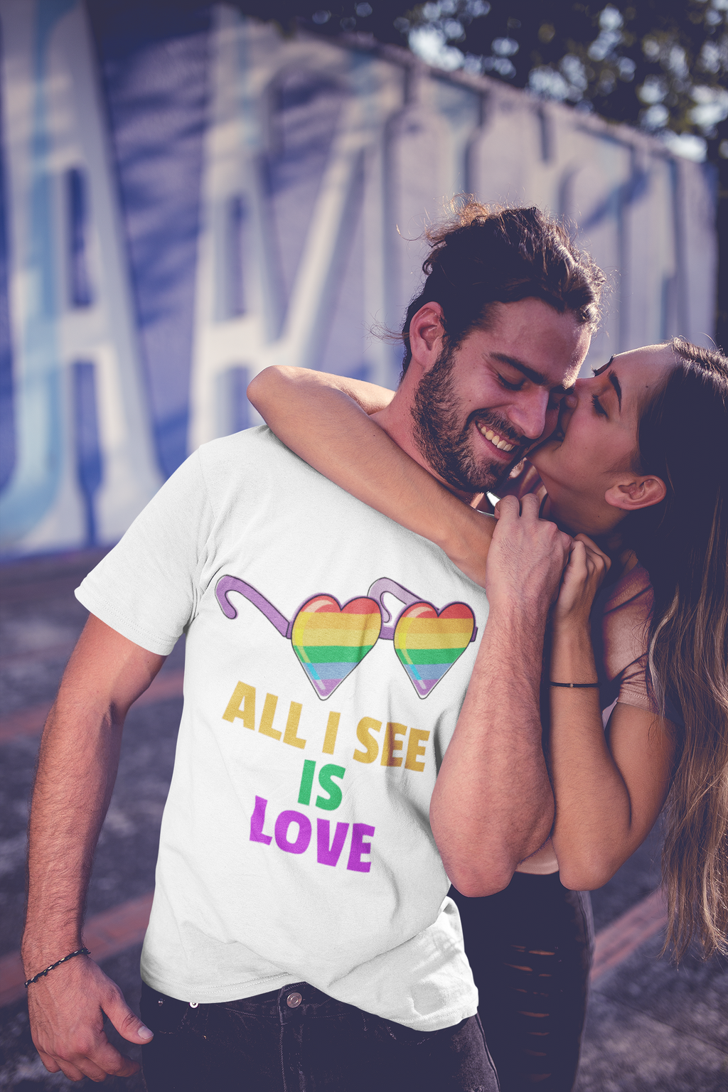 All I See Is Love T-Shirt