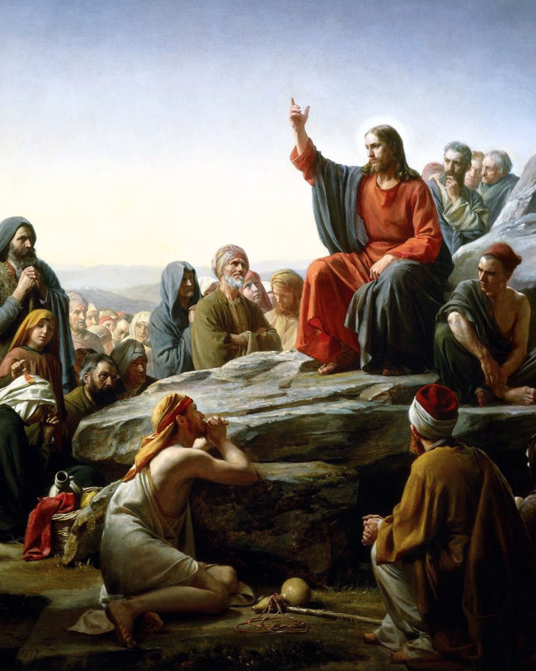 Sermon on the Mount Puzzle (Carl Bloch)