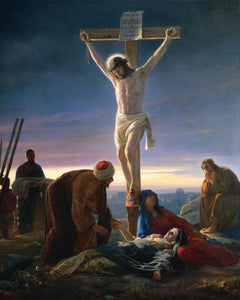 """Christ at the Cross"" Puzzle     (Carl Bloch)"