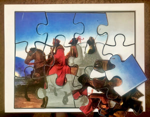 """Three Wise Men"" Puzzle (Kupel Wieser) Download"