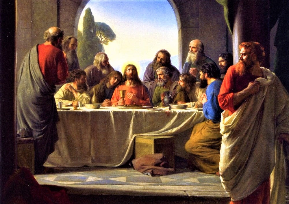 The Last Supper Puzzle (Carl Bloch)