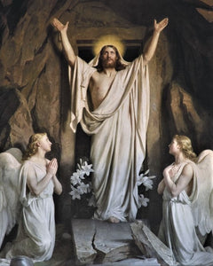 """Resurrection"" Puzzle (Carl Bloch)"