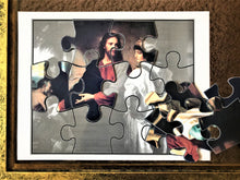 Load image into Gallery viewer, Christ and the Rich Young Ruler Puzzle (Heinrich Hofmann)
