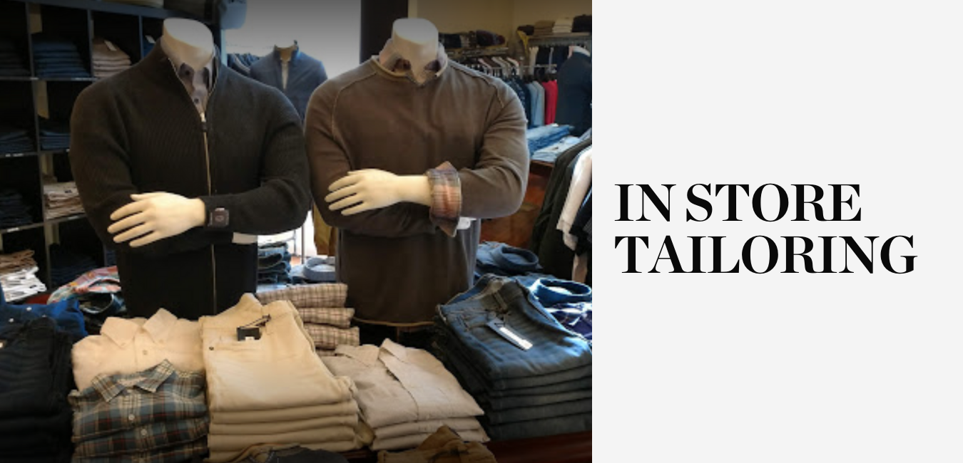 In Store Tailoring