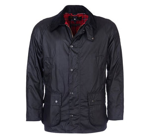 Barbour Ashby Wax Black Jacket