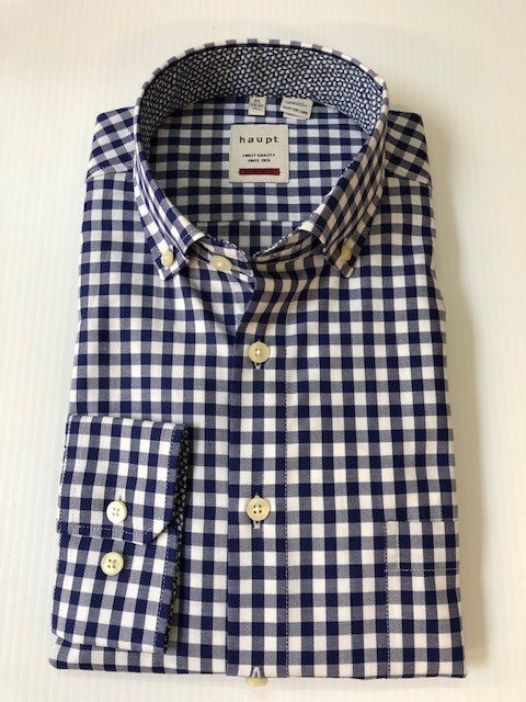 Haupt Navy Gingham