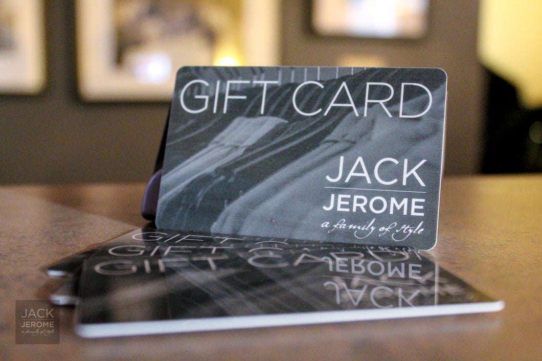 The Jack Jerome Gift Card