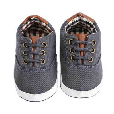 Dark Grey Casual Shoes