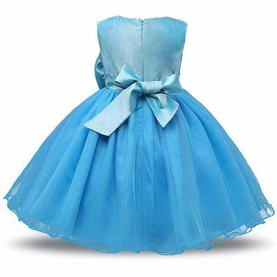 Blue Prom-Style Dress