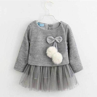 Gray 2pc Dress
