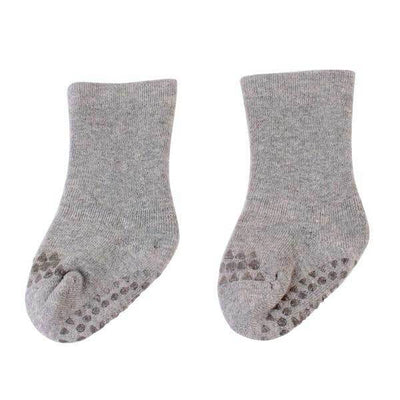 Light Grey Anti Slip Socks