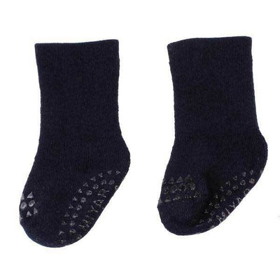 Navy Blue Anti Slip Socks